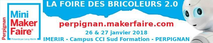 A la Une - Perpinyà Mini Maker Faire Dissabte 26, 27 de Gener de 2018 - WWW.SUIVER.EU