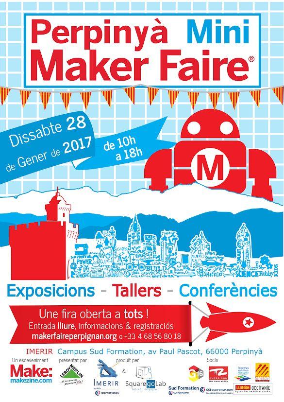 A la Une - Perpinyà Mini Maker Faire Dissabte 28 de Gener de 2017 - WWW.SUIVER.EU